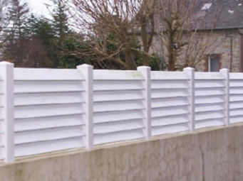 Cadiou Industrie - atlantique - Fence With An Openwork Design