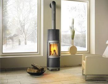 lisboa wood burning stove ceramic hase decofinder. Black Bedroom Furniture Sets. Home Design Ideas