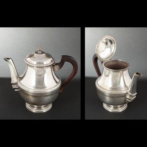 Expertissim - Tea service-Expertissim-Service à thé et à café en argent