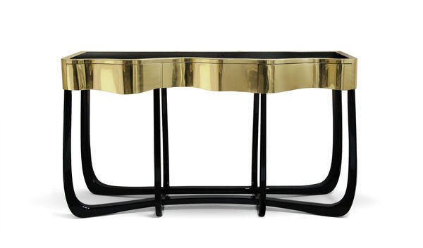 BOCA DO LOBO - Console table-BOCA DO LOBO-Sinuous