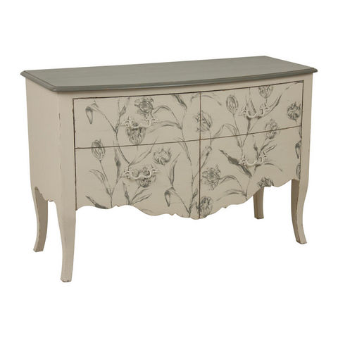 INTERIOR'S - Chest of drawers-INTERIOR'S-Commode 2 portes Clair Obscur