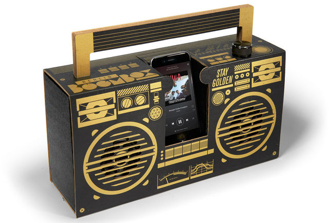 Axel Pfaender - Bluetooth Speaker-Axel Pfaender-Black & gold