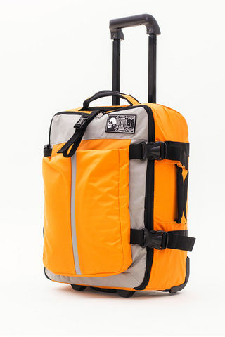 TOKYOTO LUGGAGE - Suitcase with wheels-TOKYOTO LUGGAGE-SOFT YELLOW