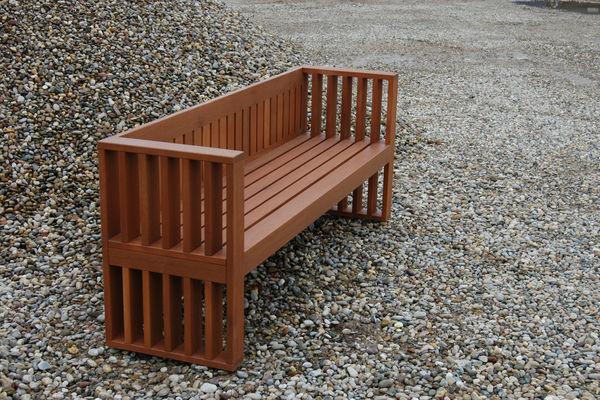 ELEMENT DESIGNMOEBEL - Garden bench-ELEMENT DESIGNMOEBEL-EL 129