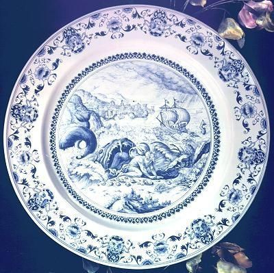Au Violon Dingue - Decorative platter-Au Violon Dingue-Jonas