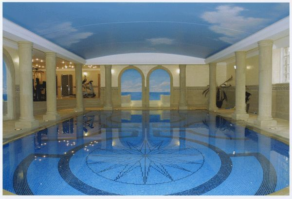 Cheshire Spas & Pools - Indoor pool-Cheshire Spas & Pools-Little Court