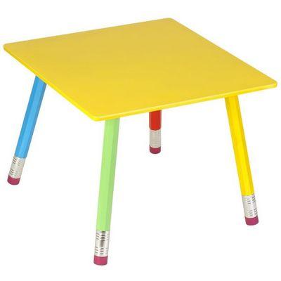 La Chaise Longue - Children's table-La Chaise Longue-Table Crayons en Bois pour enfant 55x55x43cm