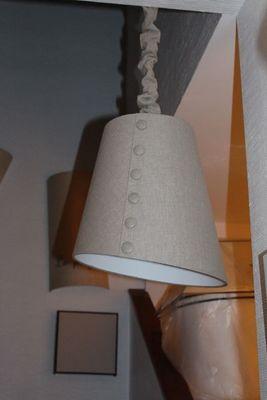 L'ATELIER DES ABAT-JOUR - Hanging lamp-L'ATELIER DES ABAT-JOUR-Asymétrique