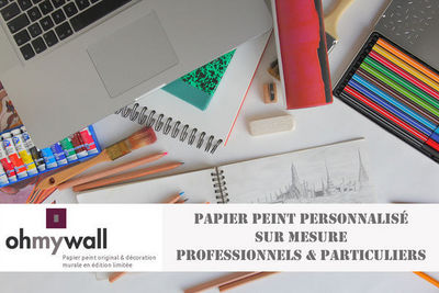 Ohmywall - Personalised wallpaper-Ohmywall-Papier peint personnalisé sur mesure