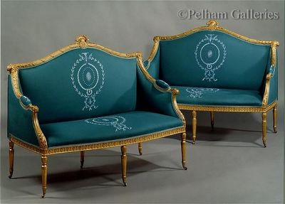 Pelham Galleries - London - 2-seater Sofa-Pelham Galleries - London