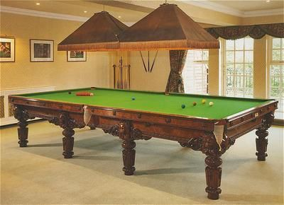 Adrian Alan - Billiard table-Adrian Alan