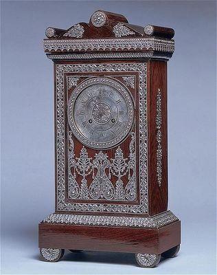 ANTOINE CHENEVIERE FINE ARTS - Antique clock-ANTOINE CHENEVIERE FINE ARTS-Mantel cloc