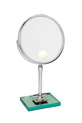 Miroir Brot - Lighted tabletop mirror-Miroir Brot-Elegance 24 Spot sur Dalle de Verre