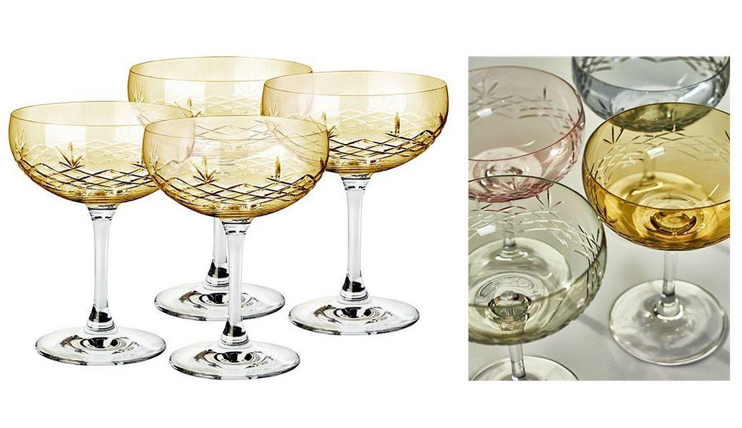 FREDERIK BAGGER Champagnerglas Gläser Glaswaren  |