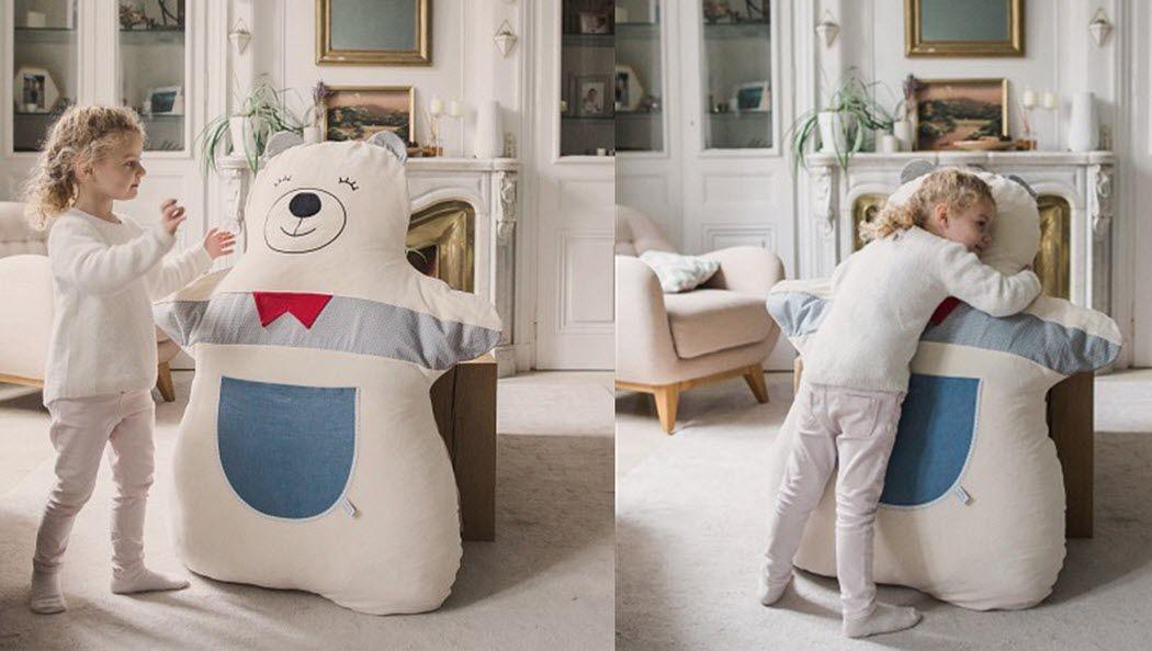 juste inseparables Riesen-Doudou Plüschtiere Spiele & Spielzeuge  |