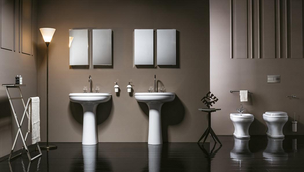 AZZURRA SANITARI IN CERAMICA Badezimmer Badezimmer Bad Sanitär  |