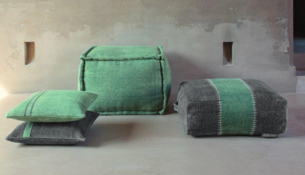 LIGNE PURE Bodenkissen Schemel und Beinauflage Sitze & Sofas  |