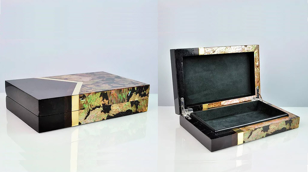 GINGER BROWN Deko Box Dekorschachteln Dekorative Gegenstände  |