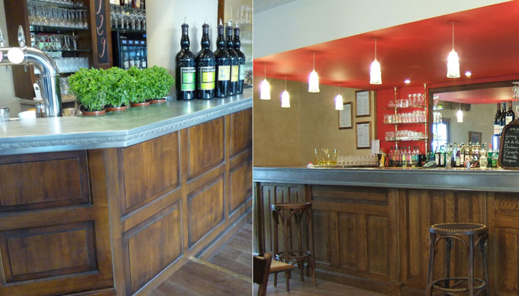 Les Etains De Lyon Bar Rand Barmöbel Tisch  |