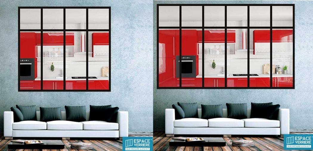 ESPACE VERRIERE Glasinnenwände: Glasdächer Fenster & Türen   