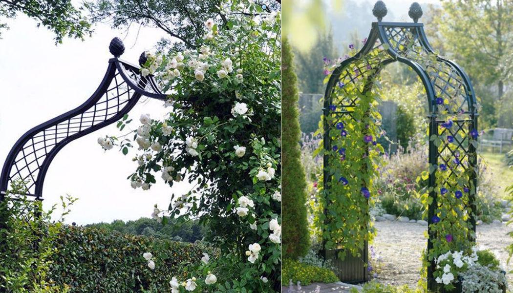 Classic Garden Elements Pflanzenbogen Scherenzaun und Spalieren Gartenhäuser, Gartentore...  |
