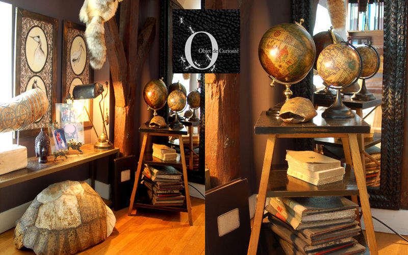 Objet de Curiosite Globus Marinegegenstände Dekorative Gegenstände Eingang | Exotisch