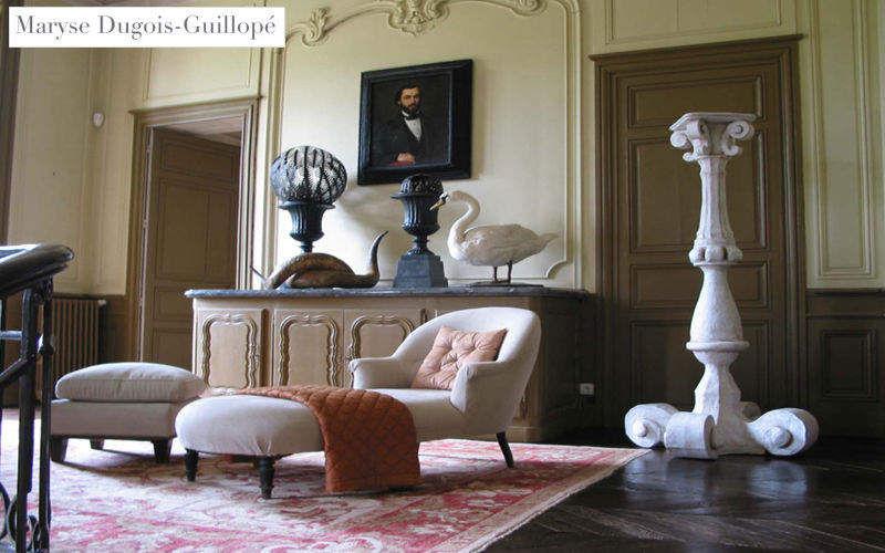 MARYSE DUGOIS PAPIER DE SOIE Schemel Beistelltisch Tisch Wohnzimmer-Bar | Klassisch