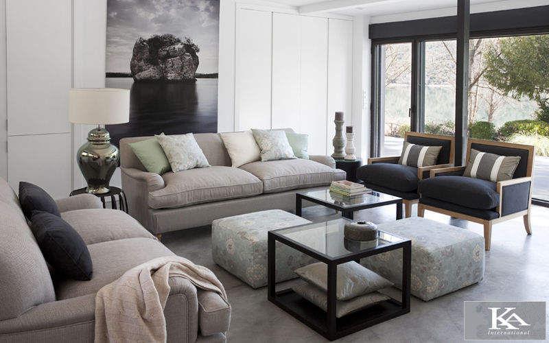 KA INTERNATIONAL Wohnzimmersitzgarnitur Couchgarnituren Sitze & Sofas Wohnzimmer-Bar | Design Modern