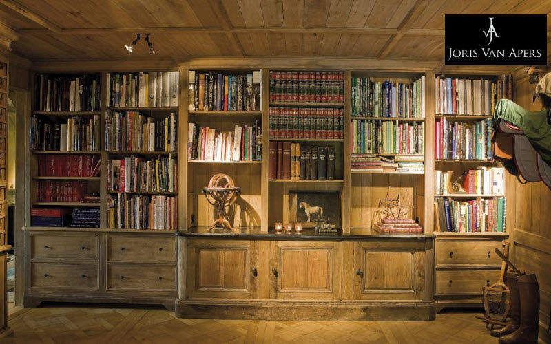 JORIS VAN APERS Offene-Bibliothek Bücherregale Regale & Schränke Wohnzimmer-Bar | Land