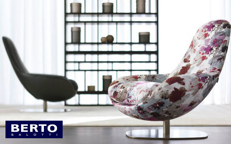 Berto Salotti Ruhesessel Sessel Sitze & Sofas Büro | Design Modern