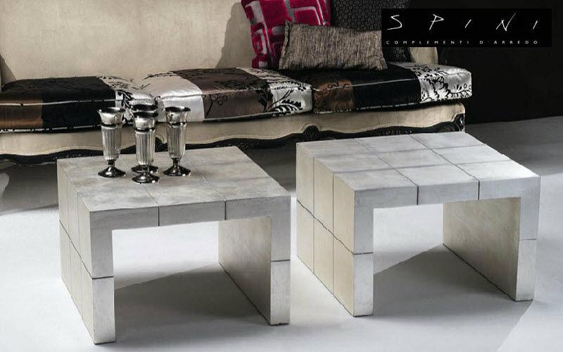 Spini Couchtisch quadratisch Couchtische Tisch Wohnzimmer-Bar | Klassisch