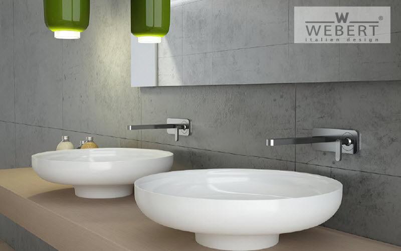 WEBERT Waschbecken freistehend Waschbecken Bad Sanitär  |