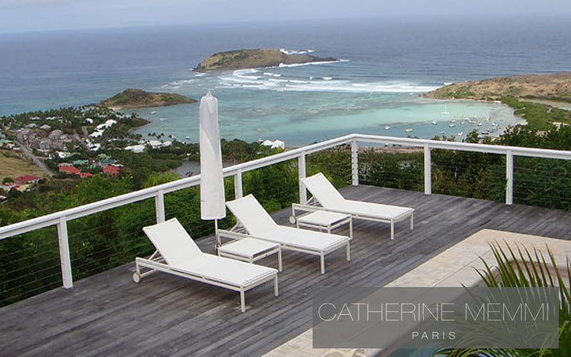 Catherine Memmi Sonnenliege Gartenliegen Gartenmöbel Terrasse | Design Modern