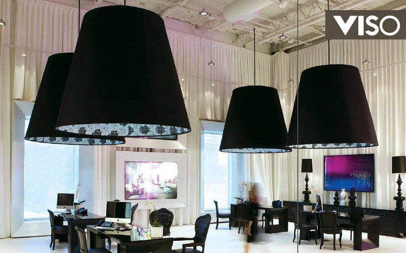 VISO Bürohängelampe Kronleuchter und Hängelampen Innenbeleuchtung Arbeitsplatz | Design Modern