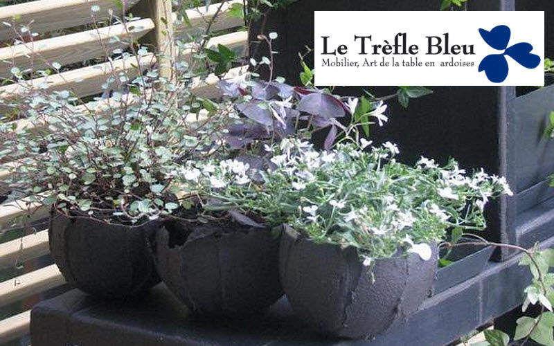 Le Trefle Bleu Blumentopf Blumentöpfe  Blumenkasten & Töpfe   