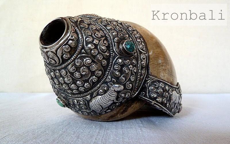 Kronbali Muscheln Marinegegenstände Dekorative Gegenstände Eingang | Exotisch