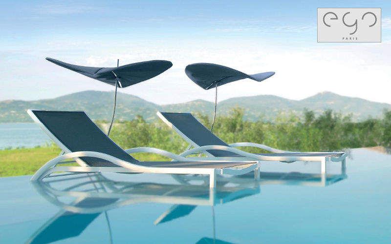 EGO Paris Sonnenliege Gartenliegen Gartenmöbel Garten-Pool   Design Modern