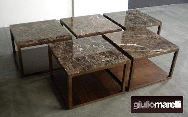 GIULIO MARELLI Beistelltisch Couchtische Tisch Wohnzimmer-Bar | Design Modern