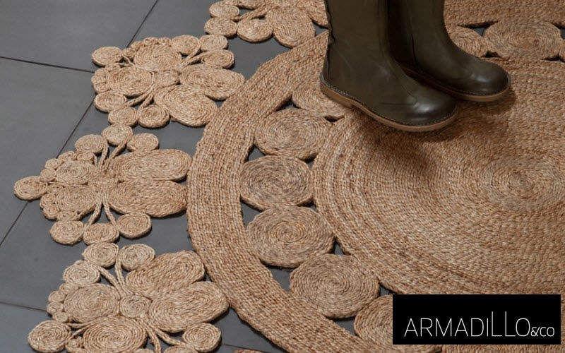 Armadillo Teppich aus Pflanzenfaser Moderne Teppiche Teppiche Eingang | Land