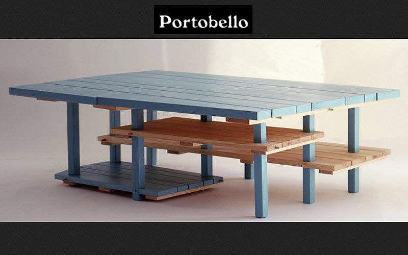 PORTOBELLO Couchtisch mit Regal Couchtische Tisch  |