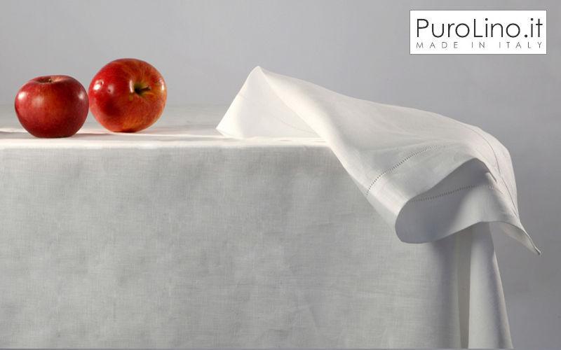 PUROLINO.it Rechteckige Tischdecke Tischdecken Tischwäsche Esszimmer | Design Modern