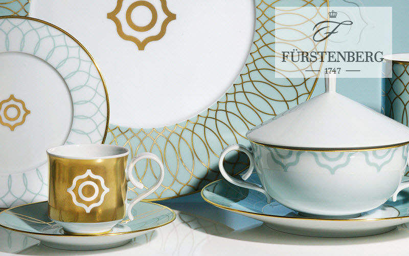 Porzellanmanufaktur F�RSTENBERG Kaffeetasse Tassen Geschirr  |