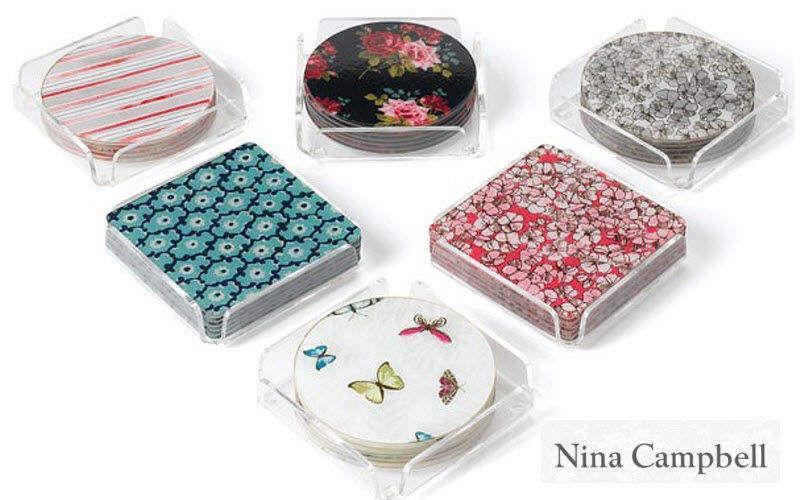 Nina Campbell Glasuntersetzer Untersetzer Tischzubehör   