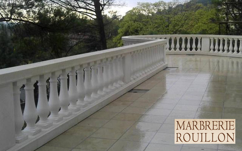 Marbrerie Rouillon Baluster Gartenzaun Gartenhäuser, Gartentore...  |