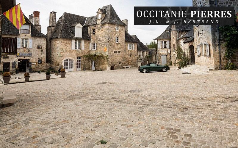 Occitanie Pierres Pflaster Außenböden Böden Öffentlicher Raum | Klassisch
