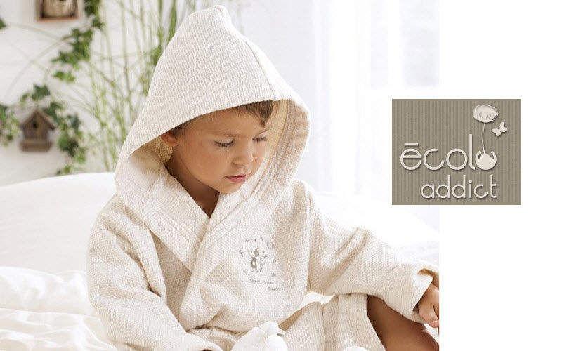 ECOLO ADDICT Kinderbademantel Bad- und Toilettenartikel für Kinder Kinderecke   
