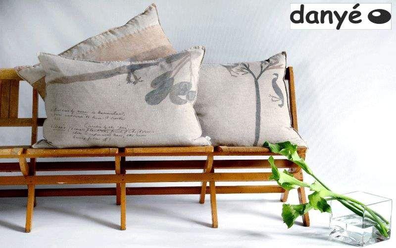 DANYÉ Rechteckige Kissen Kissen, Polster und Bezüge Haushaltswäsche Wohnzimmer-Bar | Exotisch