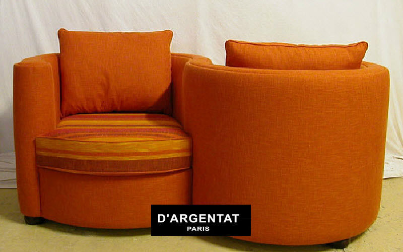 D'ARGENTAT PARIS Doppelsessel Sessel Sitze & Sofas  |