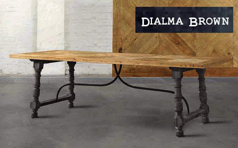 DIALMA BROWN Rechteckiger Esstisch Esstische Tisch  |