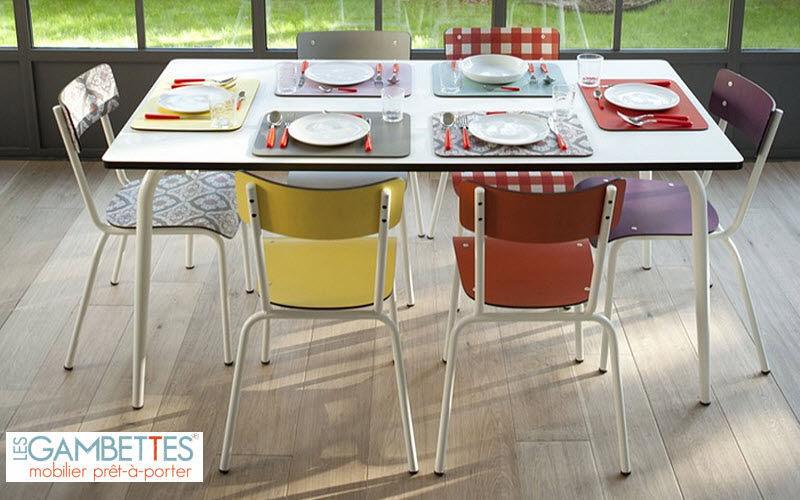 LES GAMBETTES Kûche tisch Küchenmöbel Küchenausstattung  |